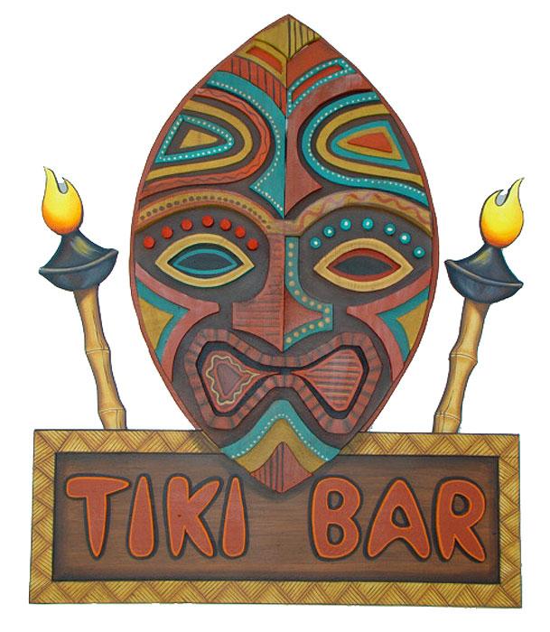 Tiki-barMask.jpg (609×700) | Abode: Adventureland, tiki ...